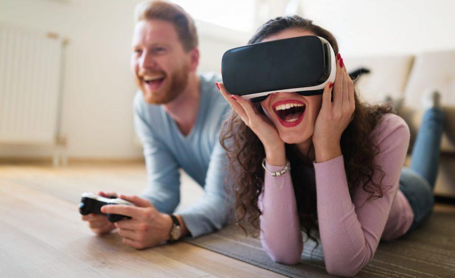 очки и шлемы виртуальной реальности