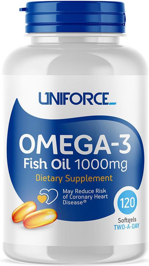 «Uniforce» Omega-3 Fish Oil 1000 мг