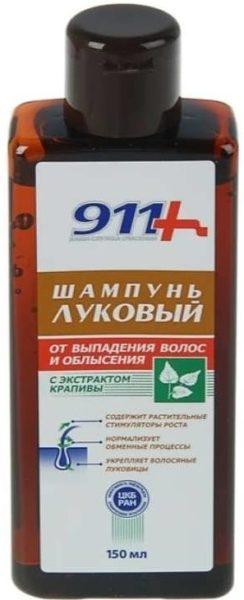 911+ шампунь Луковый