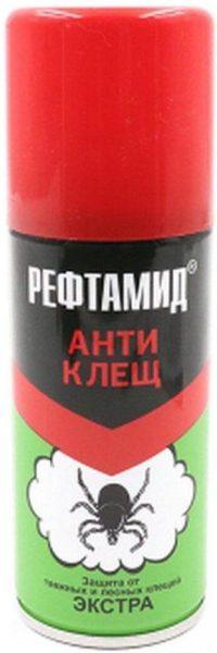 Аэрозоль Рефтамид Антиклещ Экстра, 100 мл