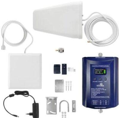 Репитер Titan-800 900 (LED) усилитель сигнала 4G LTE 800МГц 2G GSM 900 МГц 3G UMTS 900МГц