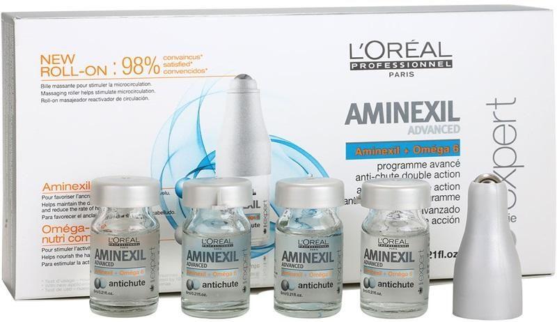 Aminexil Advanced Control - инновационная формула контроля над выпадением, ампулы с аминексилом