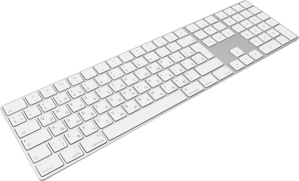 Apple Magic Keyboard with Numeric Keypad (MQ052RS A) Silver Bluetooth