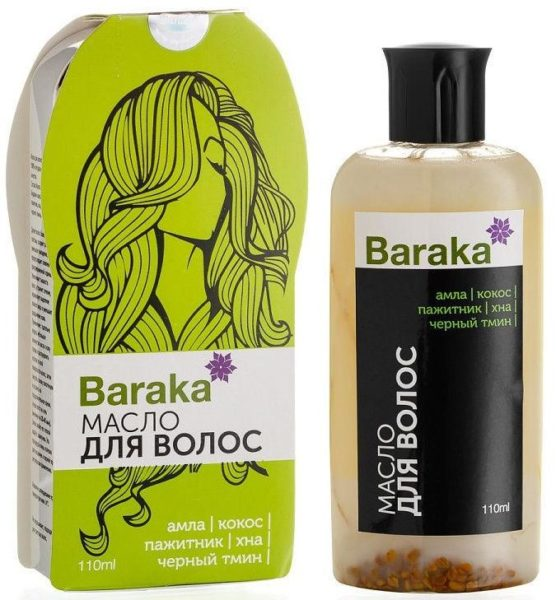 Baraka Масло Hairmenn Hair Oil