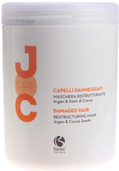 Barex Joc Care Маска Глубокое восстановление с аргановым маслом и какао