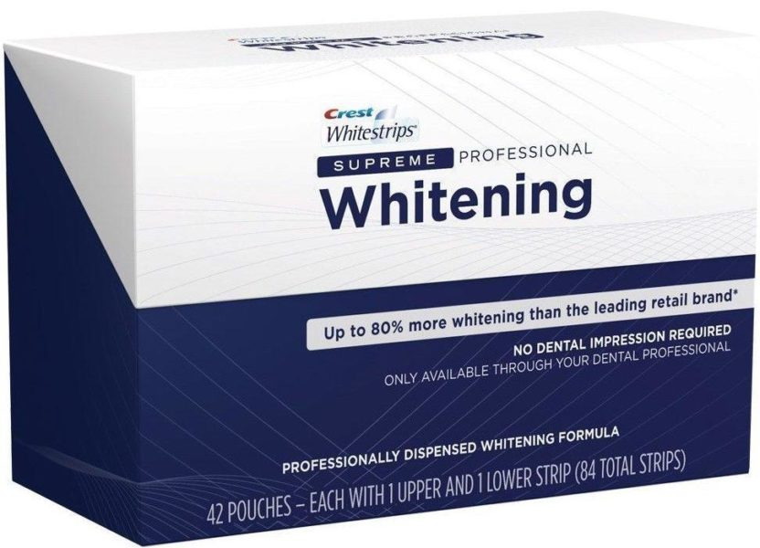 Crest Supreme Professional Whitening