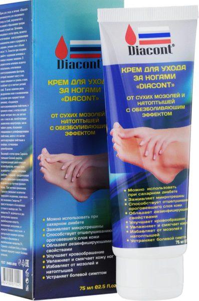 Diacont Крем для ухода за ногами