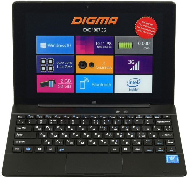 DIGMA EVE 1807 3G
