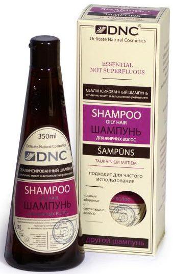 DNC шампунь для жирных волос для частого использования, 350 мл