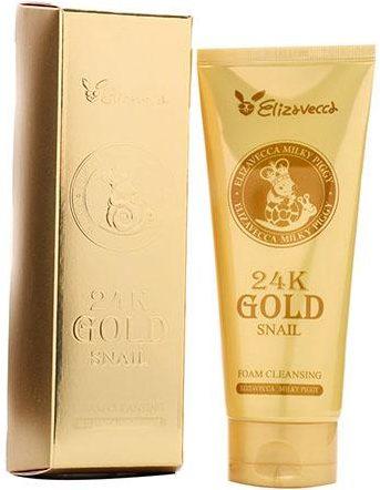 Elizavecca 24k Gold Snail Cleansing Foam