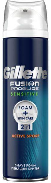 Fusion ProGlide Sensitive Active Sport 2-в-1 Gillette