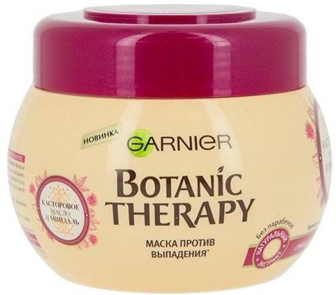 GARNIER Маска против выпадения волос Botanic Therapy Касторовое масло и миндаль, 300 мл
