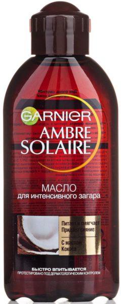 GARNIER Ambre Solaire с ароматом кокоса SPF 2