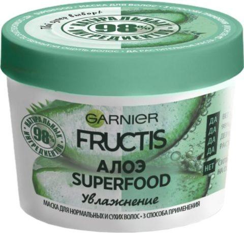 GARNIER Fructis АЛОЭ SUPERFOOD 390 мл