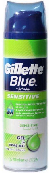 Gillette Blue Sensitive
