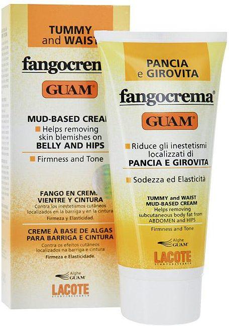 Guam крем Fangocrema для тела дневной с разогревающим эффектом на основе грязи