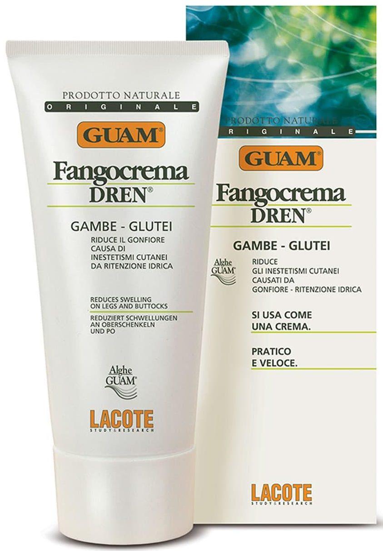 Guam крем Fangocrema Dren Gambe Glutei Cream против отёков с дренажным эффектом для тела