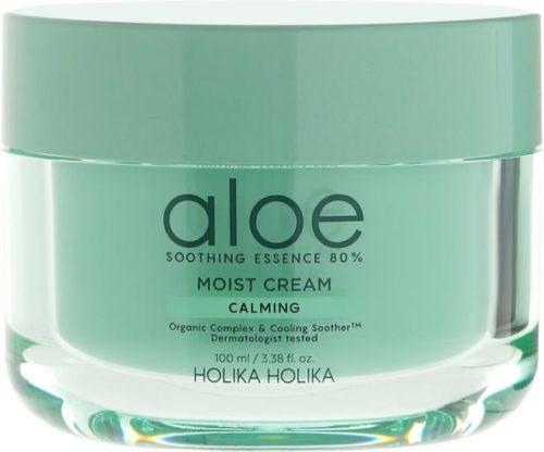 Holika Holika Aloe Soothing Essence 80% Moist Cream Увлажняющий, 100 мл