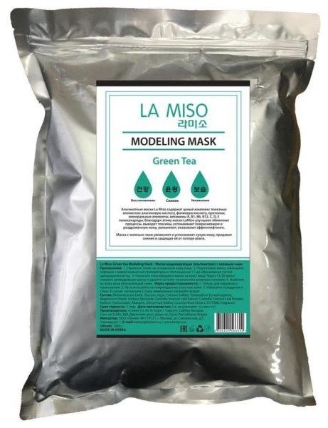 La Miso альгинатная маска с зеленым чаем