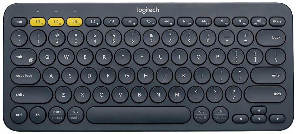 Logitech K380 Multi-Device Dark Grey Bluetooth