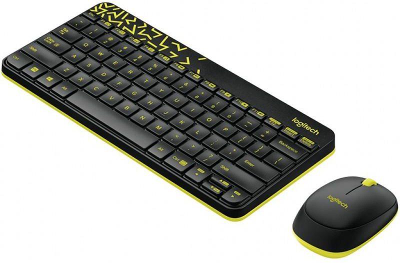 Logitech MK240 Nano Black-Yellow USB