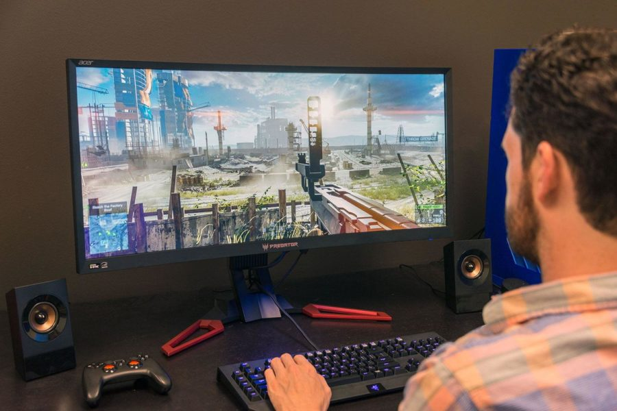 монитор для игр