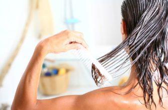 наносить кондиционер на волосы