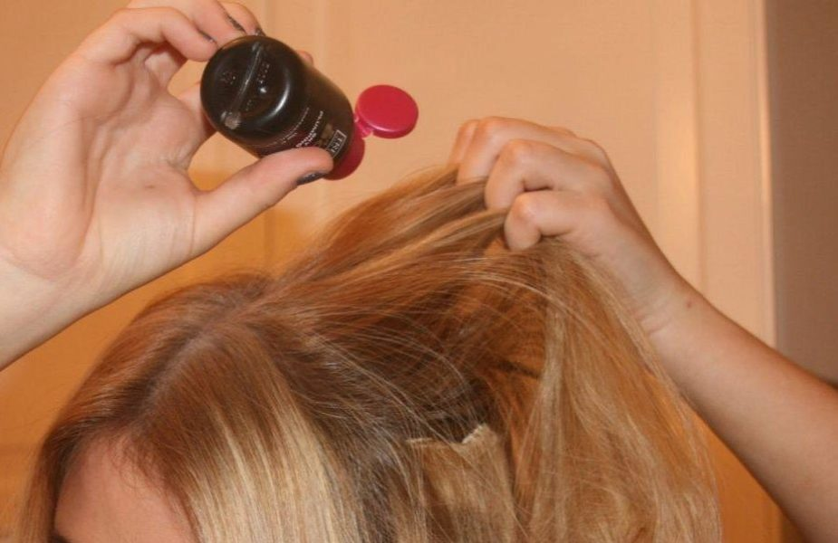 использование пудры для волос