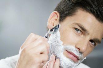бриться гелем для бритья