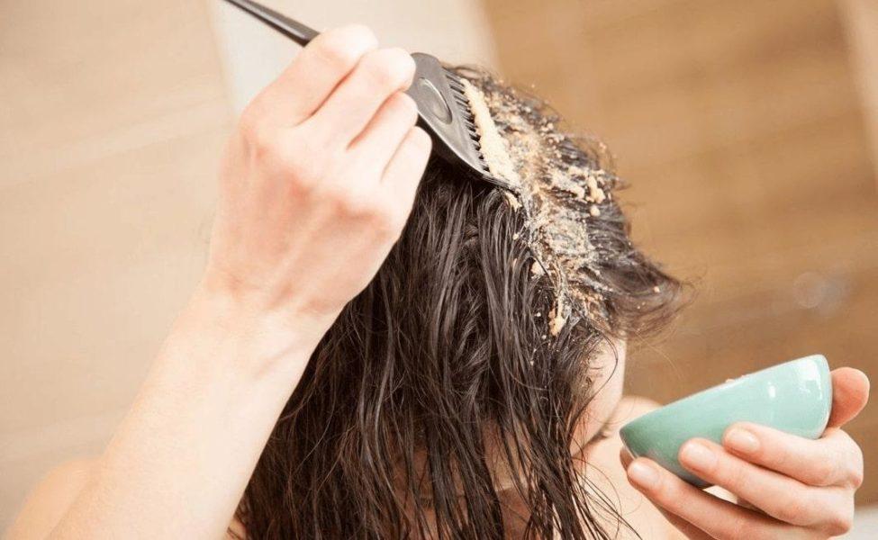 маска для волос для дома