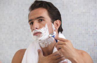 бритье пеной