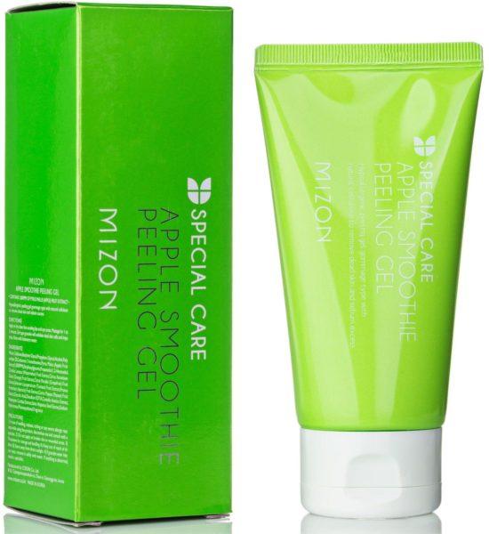 Mizon пилинг-гель Therapy Apple smoothie peeling gel