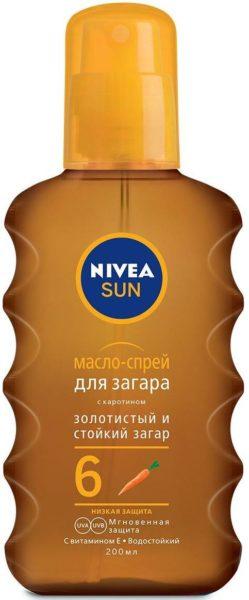 Nivea Sun SPF 6 с каротином