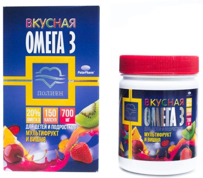 Омега-3 Мультифрукт