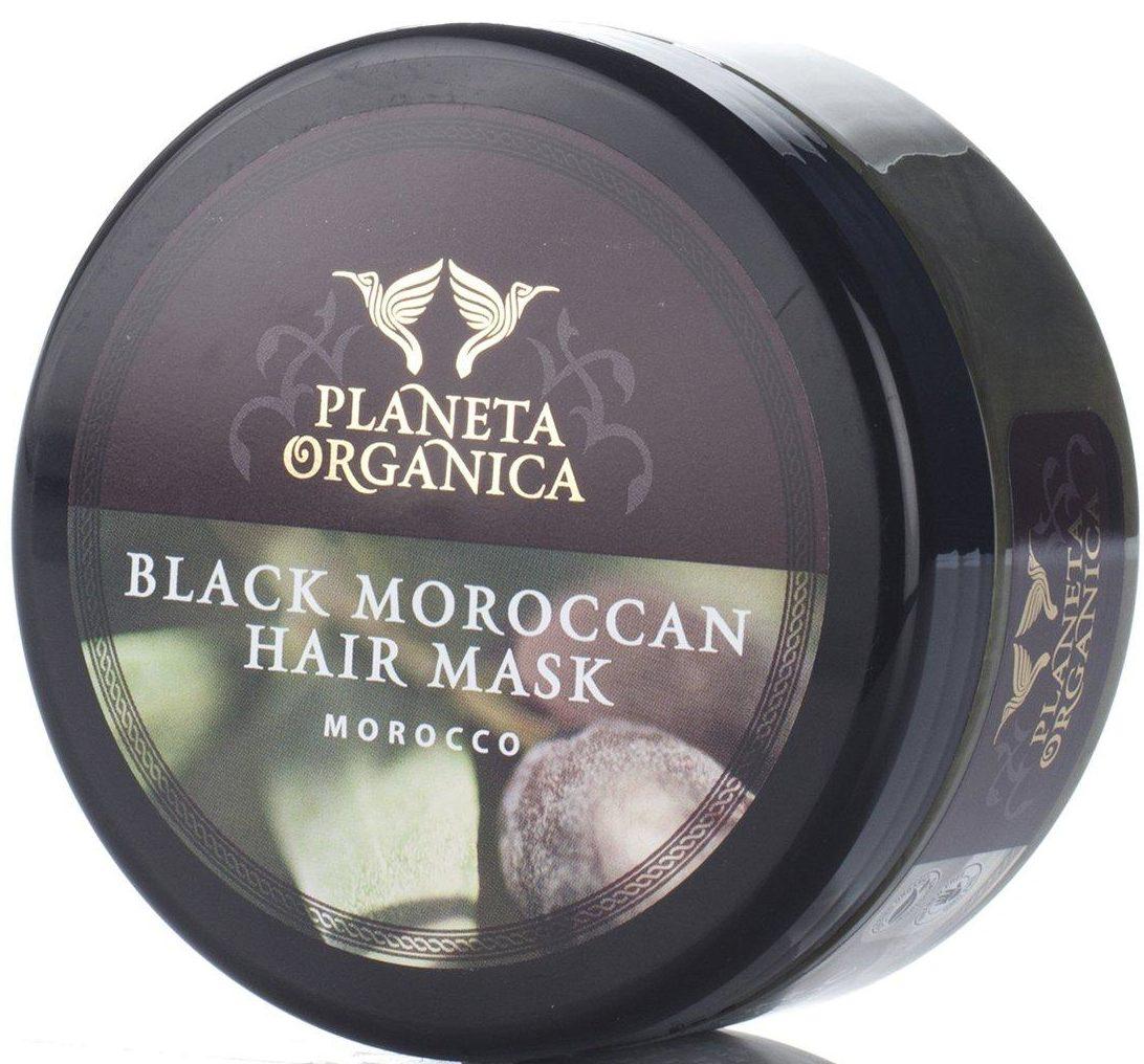 Planeta Organica Густая черная Марокканская Против выпадения