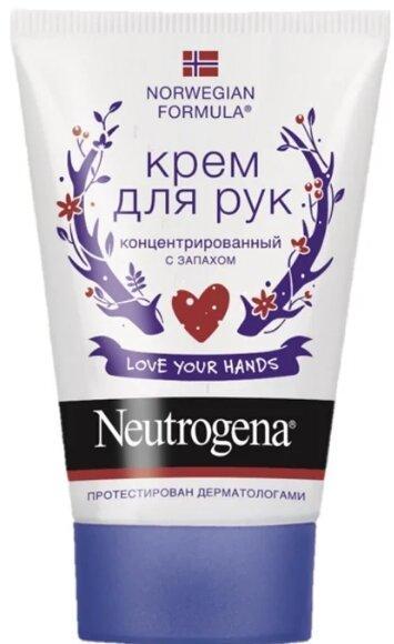 Neutrogena Norwegian formula Concentrated с запахом