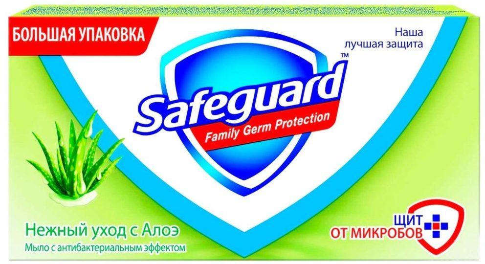 Safeguard Нежный уход с Алоэ