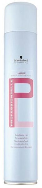 Schwarzkopf Professional Professionnelle Laque Super strong hold