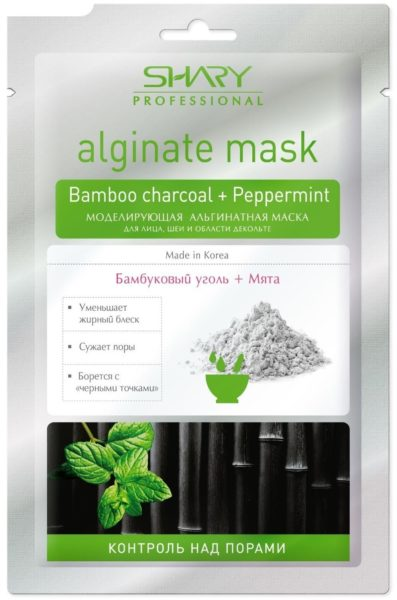 Shary альгинатная маска Контроль над порами