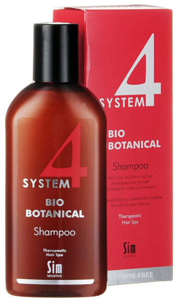 Sim Sensitive SYSTEM 4 Bio Botanical Shampoo Био Ботанический