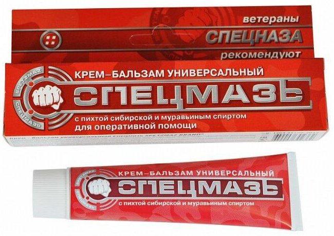 СПЕЦМАЗЬ универсальный с пихтой сибирской и муравьиным спиртом 44 мл