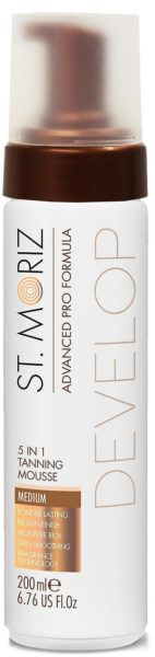 St.Moriz Advanced Pro 5 In 1 Tanning Mousse Medium